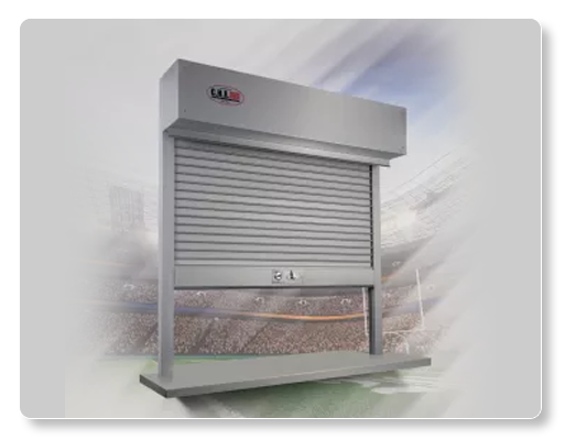 Rolling Counter Shutters Chi Model 6522 All Rite