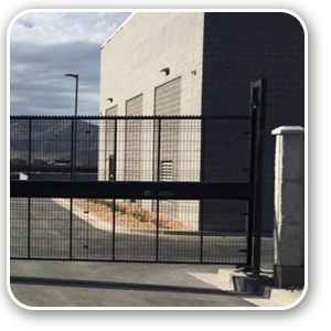 Industrial Security Sliding Gates