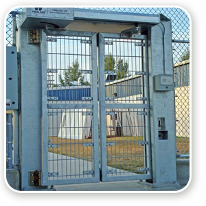 Industrial Folding Gates -Wallace CGTT Gate