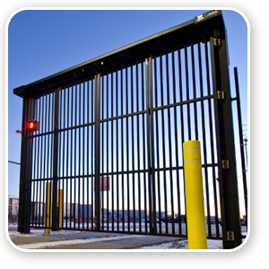 Industrial Folding Gates – Wallace PDTT gate